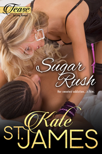 Sugar Rush cover, Story 2 in TEASE Sizzing Romps series