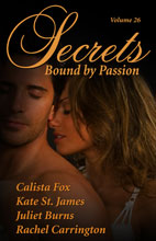 """Exes & Ahhs"" in Secrets Volume 26: BOUND BY PASSION"